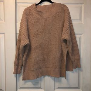 Dust rose sweater